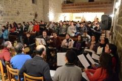 1 Javierada . Concierto oración. Grupo Betel. Sangüesa 09/03/2013