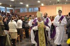 3.000 jóvenes con el Cardenal Rouco y nuestro Sr. Arzobispo, en la Universidad de Navarra