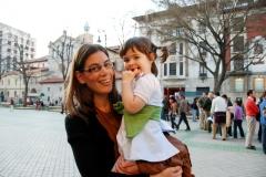 Concentración por la vida en el Paseo Sarasate. 23/03/2012