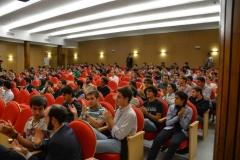 """Conferencia \""""Experiencia sobre la fe\"""", en el Colegio Mayor Belagua 16/10/2012"""