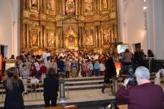Entrega Comprendio del Catecismo a los catequistas en la parroquia San Miguel de Pamplona 24/02/2013