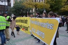 Manifestación por la vida en Pamplona 17/11/2013