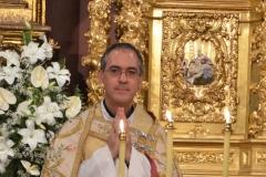 Oración de los jóvenes con el Obispo Auxiliar 05-07-2013