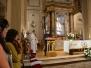 Oración de los jóvenes con el Sr. Arzobispo 07/12/2012