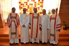 Ordenación Dicaconal de Eduardo Ludwig 12/10/2012