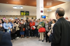 Peregrinación del Sr. Arzobispo a Tierra Santa 10/04/2012