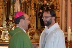 Rito de admisión Diaconado Permanente a Eduardo Ludwig 02/09/2012
