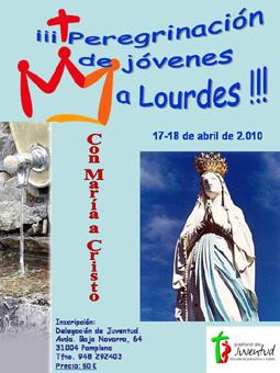 Peregrinación de jóvenes a Lourdes