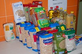 comida para caritas