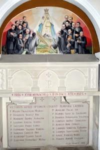 martires benedictinos