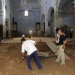 Hallan muros y suelos de la antigua iglesia de San Nicolás de Tudela