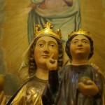 """Primer traslado solemne de la """"Virgen del Pero"""", antigua patrona de Peralta"""