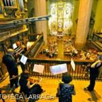 El XXX Ciclo de Música para Órgano arrancó este sábado en Larraga